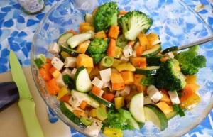 Backofen-Gemüse Zubereitung 1