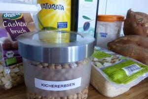 Süßkartoffel-Gnocchi Zutaten